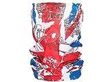 Alsino Multifunktionstuch Funktionstuch Schlauchtuch Halstuch Multischal Multiscarf alle Farben, Variante wählen:MF-178 Großbritannien