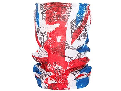 Foulard fazzoletto da collo sciarpa funzionale multiuso scaldacollo tubolare leggero e morbido estate primavera autunno inverno loop anello ragazze colorati stola accessorio moderno lifestyle, Multituch MF-174-221:MF-178 Gran Bretagna