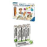 Pack Tiptoi - Coffret Complet + 8 Piles AmazonBasics AAA