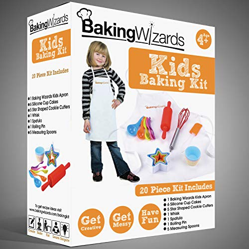 Deluxe 20 Piece Kids Cooking and...