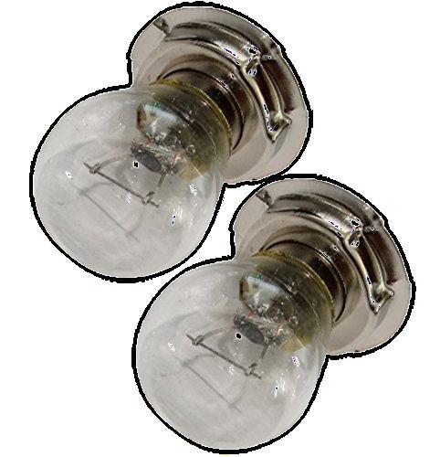 Preisvergleich Produktbild Aerzetix: 2 x Birnen Lampen G25 P26S 12V 15W für Motorradroller C18939
