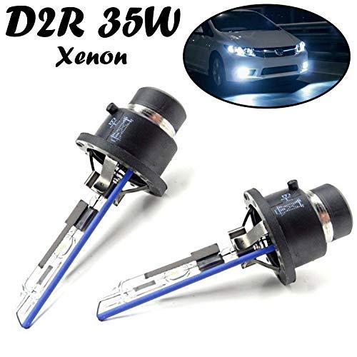 2x Jurmann D2R 35W 85V P32d-3 Super Weiß 6000K High Tech Scheinwerfer Fernlicht Abblendlicht Ersatz Xenon Brenner Lampe E-geprüft