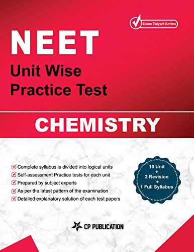 NEET Chemistry - Unit wise Practice Test Papers By Career Point Kota