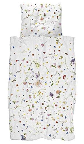 Biancheria da letto Snurk lenzuola Flower Fields 135x 200cm 100% cotone