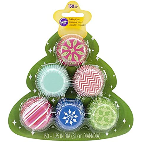 Mini Baking Cups-Assorted Christmas
