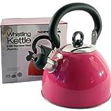 Prima - Tetera eléctrica para té caliente, color: rosa (11121C)