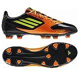 adidas F10 TRX Fester Boden Fußballstiefel (42 2/3 EU, Schwarz)