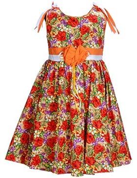 Cinda Mädchen Baumwolle Kleid Kirsche
