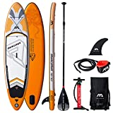 Happy Garden Stand Up Paddle Gonflable Magma et Ses Accessoires