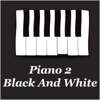 Piano 2 - Black And White