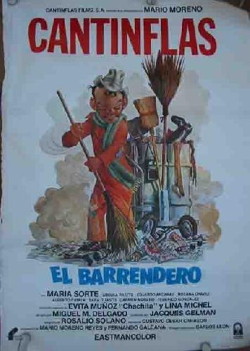 EL BARRENDERO. CANTINFLAS