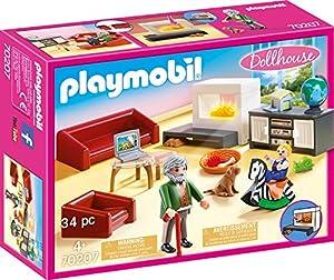 Playmobil Dollhouse 70207 Set de Juguetes - Sets de Juguetes (Acción / Aventura, 4 año(s), Niño/niña, Interior,, Gente, Mascotas)