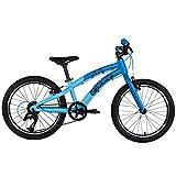 ollo Bikes® - Kinderfahrrad 20 Zoll für Jungen und Mädchen von 6-8 Jahren - 8-Gang Schaltung - Engineered in Germany: Top-Qualität, Alu-Rahmen, hochwertige Komponenten, nur 9,0 kg (Blau/schwarz)