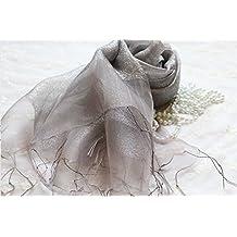 Pañuelos de seda, sun cojín, seda, acondicionadores de aire, vestidos, chales