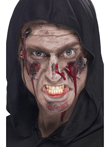 Smiffys Halloween Schminke Zubehör Horror Fleisch Tube hautfarben ()
