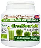 100% Organic GreeNourish SuperFoods - 300g by Specialist Supplements Ltd.