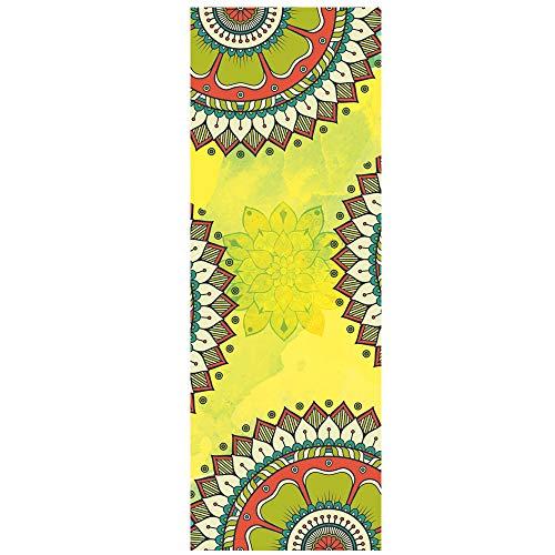 Yoga-Handtuch Matten-Tuch Mit intelligenten Ecktaschen Und elastische Schleife Dicke rutschfeste Yogatücher rutschfest Heißes Yoga-Handtuch Yogamatte Bikram Trainieren Pilatus Fitness,C