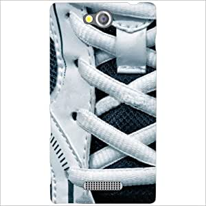 Sony Xperia C Back Cover - Shoe Laces Designer Cases