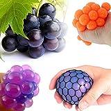 Zhuotop Bola de uva antiestrés de malla para aliviar la tensión, juguete antiestrés descompresion juguetes