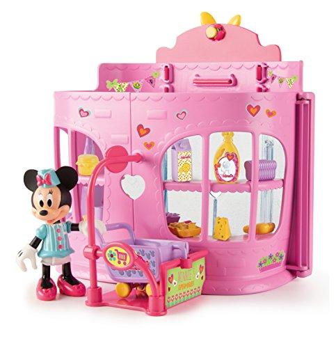 itzer 182707MI4 Disney Junior Minnie Let's go Shopping Supermarkt ()