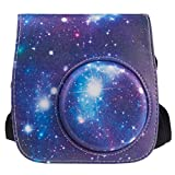 ZeWoo Custodia Fujifilm Instax Mini 8 / 8+ / 9,fotocamera istantanea, borsa in pelle per fotocamera con tracolla rimovibile