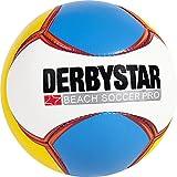 Derbystar Beach Soccer Pro - weiß/blau/gelb