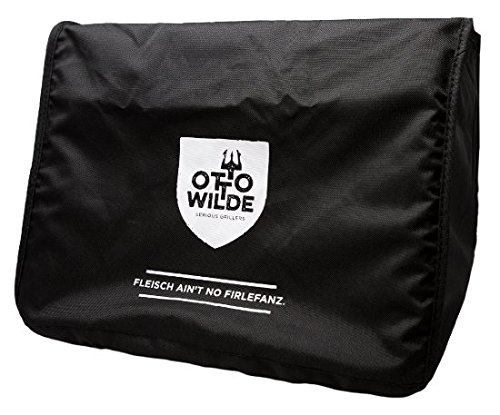 Otto Wilde Grillers Original cubierta | Negra Cubierta para el o.f.b. calor superior Barbacoa, fabricados...