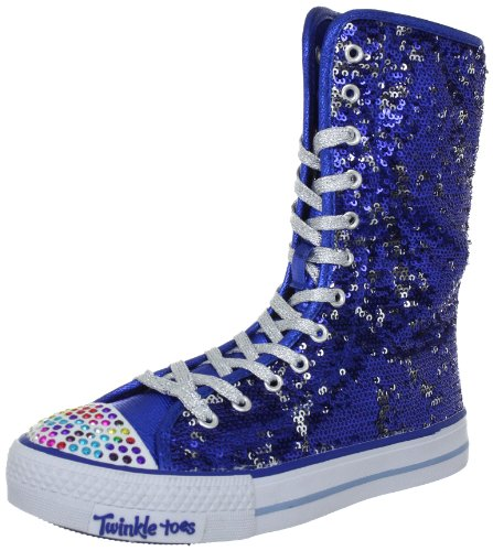 Skechers ShufflesBizzy Bunch 83311L, Bottes fille Bleu-TR-H1-12