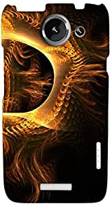 Timpax protective Armor Hard Bumper Back Case Cover. Multicolor printed on 3 Dimensional case with latest & finest graphic design art. Compatible with HTC one X+ ( Plus ) Design No : TDZ-25517