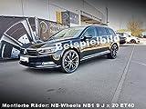4 Alufelgen NB Wheels NB1 18 Zoll p...