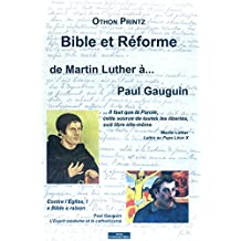 Bible et Réforme, de Martin Luther à Paul Gauguin