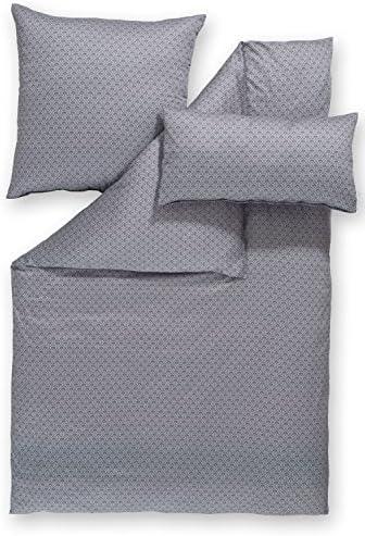 Estella Parure Coton, de lit de luxe en satin Melina colombe, Coton, Parure Tourterelle, 155 x 220 cm / 80 x 80 cm 6957b2