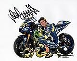 Édition limitée 2016Moto GP Valentino Rossi Photo dédicacée par autographe