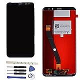 Draxlgon Completo LCD Display Touchscreen Digitizer Vetro Panel per Huawei Mate 10 Lite/Nova 2I/Maimang 6/G10 RNE AL00/G10 Plus/RNE L22/L02/L21/L01/L23/AL00 5.9' Schermo Ricambi (Nero)
