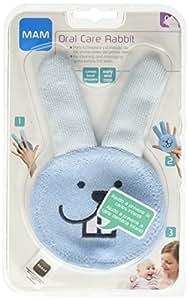 MAM Oral Care Rabbit Teething Cloth (Blue)