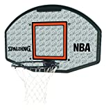 Spalding Basketballkorb Spalding NBA Composite Fan Backboard, weiß/grau, 300162801