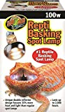 Zoo Med SL-100E Repti Basking Spot Strahler, 100 Watt, für Wärme und Licht im Terrarium