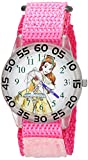 Disney Girl's 'Princess Belle' Quartz Plastic Casual Watch Color:Pink (Model: WDS000221)