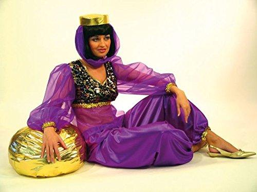 Haremsdame Suleika Salome Bauchtänzerin 38/40 Karneval Fasching (Kostüme Jeannie Erwachsene)