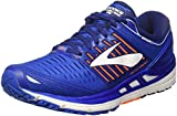 Brooks Herren Transcend 5 Laufschuhe, Blau (Blue/orange/White 1d463), 42.5 EU