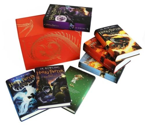 Preisvergleich Produktbild Harry Potter Hardcover Complete Collection Limited Edition All 7 Books Box Set