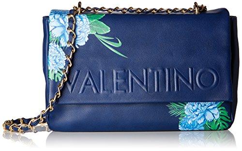 Mario Valentino Valentino by Damen Catamarano Tornistertasche, Mehrfarbig (Blu/Multicolor), 8.0x19.0x29.0 cm