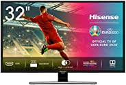 Hisense HD TV H32A5800 - Smart TV Resolución HD, Natural Color Enhancer, Dolby Audio, Vidaa U 2.5, HDMI, USB,