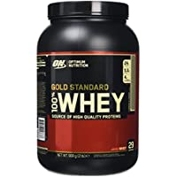 Optimum Nutrition Gold Standard Whey Protein Powder, Cookies and Cream, 908 g