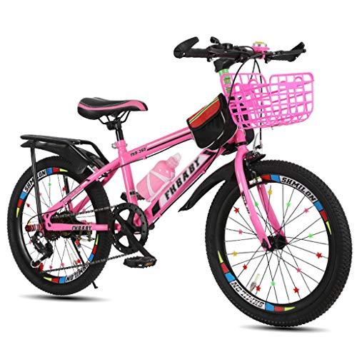 Kinderfahrräder Fahrräder Fahrrad Kind / 18 Zoll / 20 Zoll / 22 Zoll Junge Mädchen Fahrrad Student Travel Fahrrad Variable Geschwindigkeitsanpassung Fahrrad 5~15 Jahre im Freien