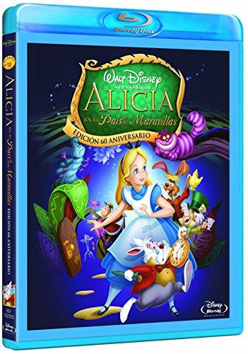 Alicia En El País De Las Maravillas [Blu-ray] 514bg2CWvuL