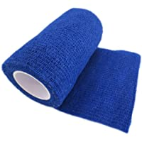 Selbsthaftende Bandage Haftbandage vet Wrap, blau, 7,5cm x 4,5m, 12Stück preisvergleich bei billige-tabletten.eu