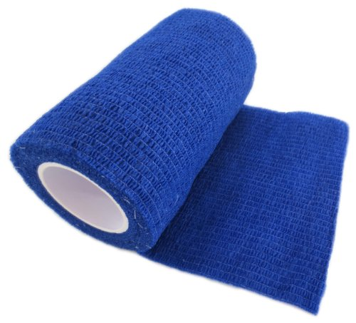 12-rolls-of-cohesive-bandages-vet-wrap-blue-75cm-x-45-m-self-adhesive-flexible-bandages-professional