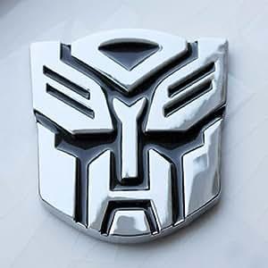 s2stm metal transformer car decal 3d decoration logo alloy zinc