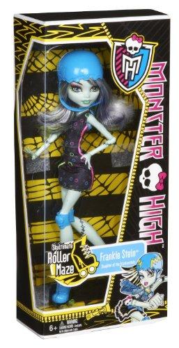 Imagen 5 de Monster High - Muñeca, Monstruopatinadora Frankie (Mattel X3672)